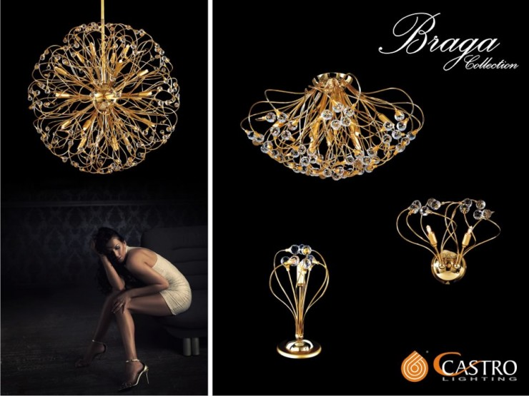 For Over 30 Years Of Lightning The Castro Lighting Brings With It Shades Ofelegance Luxury And Fantasy Atmosphere Selecta