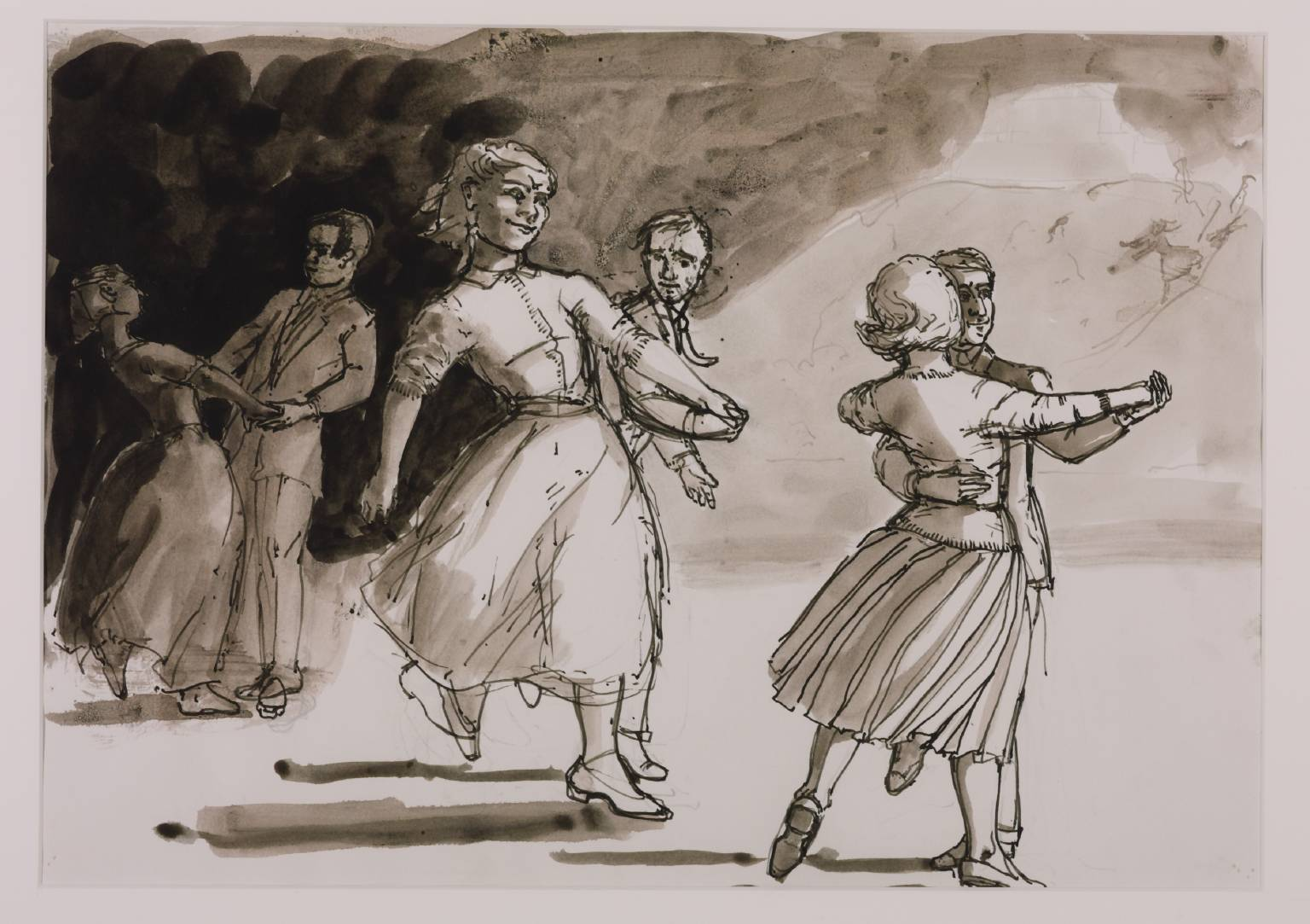 paula rego the stories painter drawing for the dance