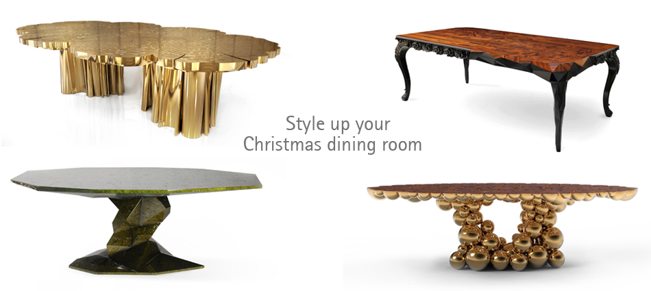 Style up your dining room with Boca do Lobo