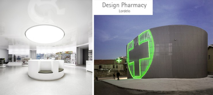 Box shaped Pharmacy – Out of the box architecture | Portugal Brands