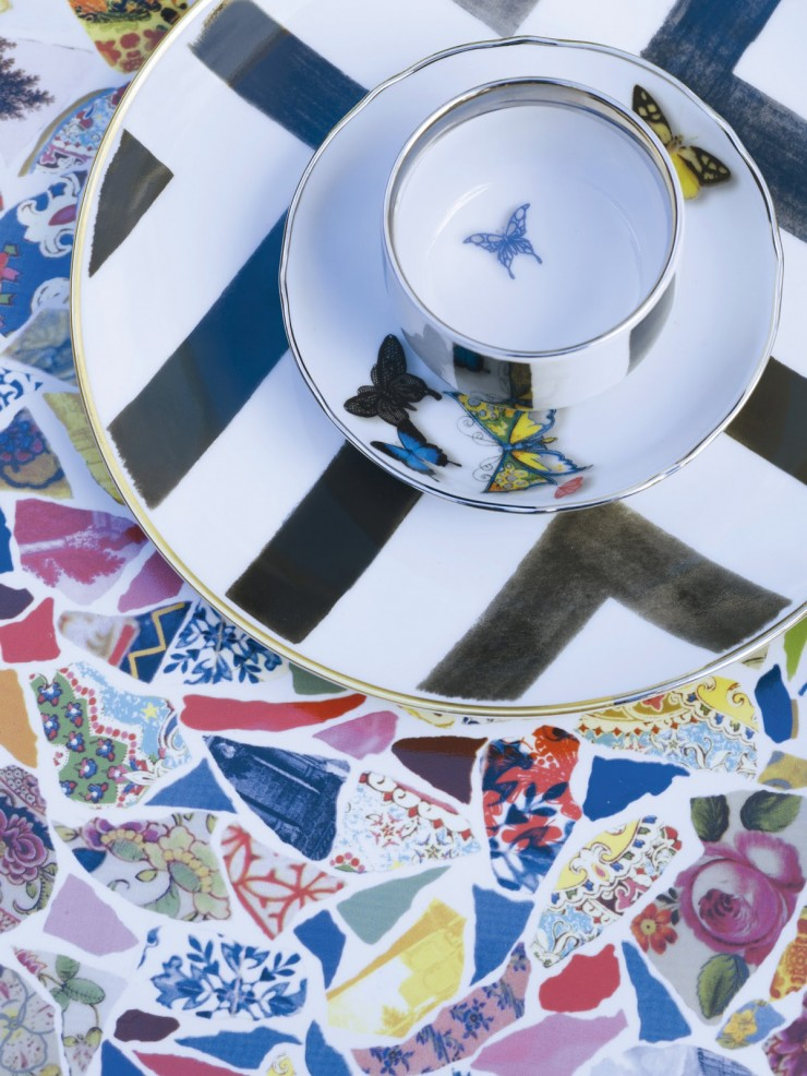 """Vista Alegre is presenting in Maison&Objet - Paris, four collections of table and decorative pieces created in conjunction with Christian Lacroix."""
