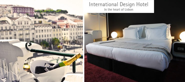 design hotel new 740x331 INTERNATIONAL DESIGN HOTEL – IN THE HEART OF LISBON