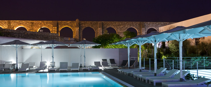 Coolest five star boutique hotel m ar de ar aqueduto for Five star boutique hotels