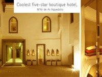 Coolest five-star boutique hotel, M'Ar de Ar Aqueduto
