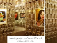 Iconic projects of Andy Warhol, in Lisbon until 11th July