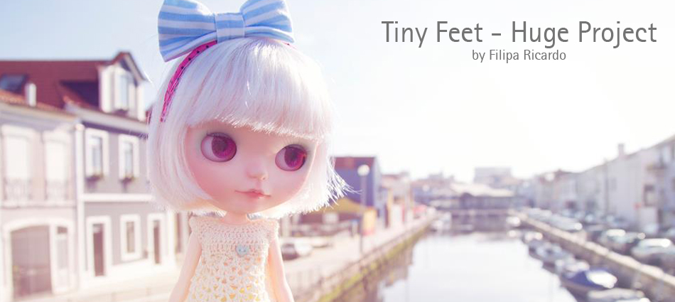 Tiny Feet - Huge Project, by Filipa Ricardo