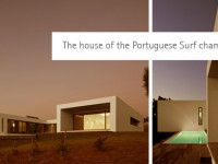 The house of the Portuguese Surf champion