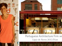 Portuguese Architecture Firm won Lápiz de Acero 2013 Prize